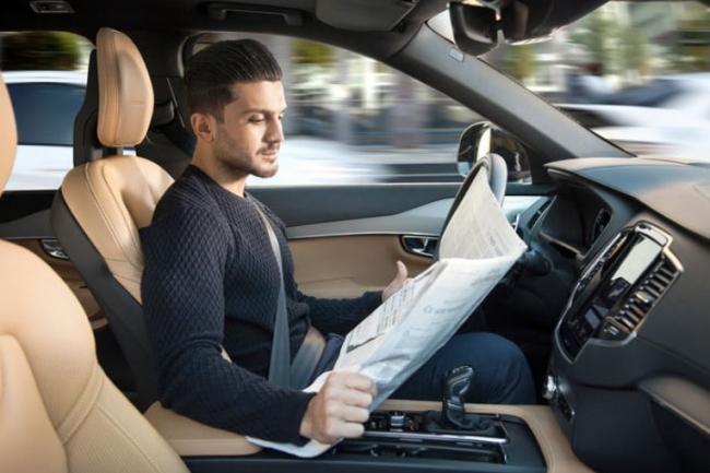 concept voiture autonome